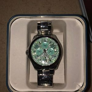 Sparkly fossil watch